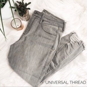 UNIVERSAL THREAD Gray Cropped Jeans